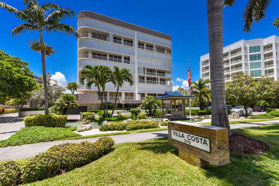 Highland Beach Condo For Sale: 3210 S Ocean Boulevard #803