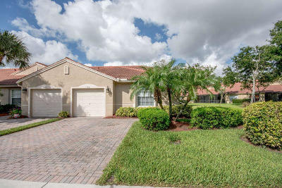 Boynton Beach Single Family Home For Sale: 5114 Toscana Trail
