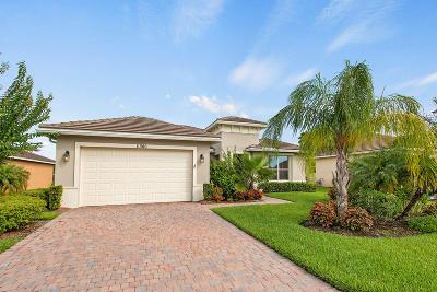 Port Saint Lucie Single Family Home For Sale: 11380 SW Apple Blossom Trail