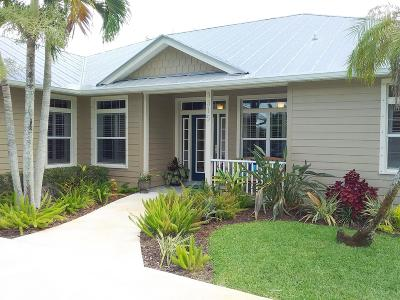Port Saint Lucie Single Family Home For Sale: 3315 W Snow Road