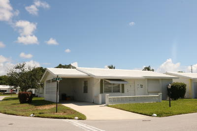 Boynton Beach Single Family Home For Sale: 815 SW 3rd Avenue