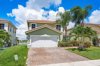 West Palm Beach Single Family Home For Sale: 6207 Adriatic Way