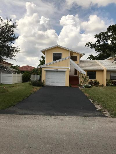Coral Springs Single Family Home For Sale: 10600 La Placida Drive