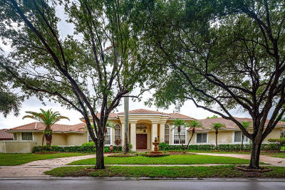 Parkland Single Family Home For Sale: 6805 NW 70th Place