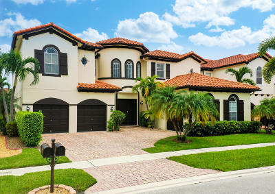 Boynton Beach Single Family Home For Sale: 4061 Artesa Drive