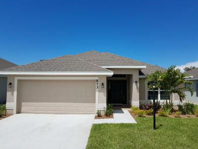 Port Saint Lucie Single Family Home Contingent: 685 NE Purple Martin Place