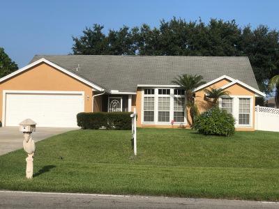 Port Saint Lucie Single Family Home For Sale: 2731 SW Savona Boulevard
