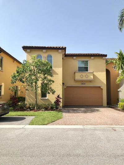 Palm Beach Gardens Rental For Rent: 4654 Mediterranean Circle