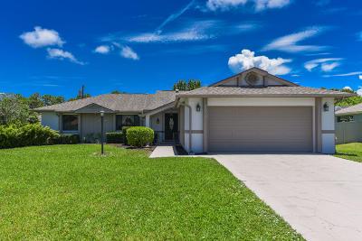 Port Saint Lucie Single Family Home For Sale: 2368 SE Longhorn Avenue