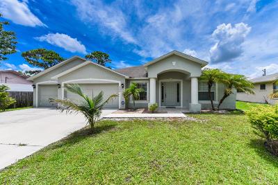 Port Saint Lucie Single Family Home For Sale: 722 SE Celtic Avenue