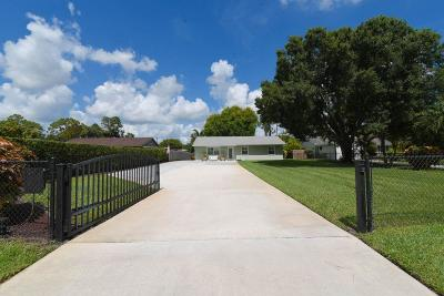 Lake Worth Single Family Home For Sale: 5547 3rd Road