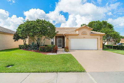 Lake Worth Single Family Home For Sale: 8520 Golden Cypress Court