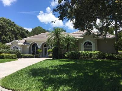 St Lucie County Single Family Home For Sale: 9519 Shadow Lane