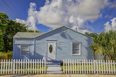 West Palm Beach Single Family Home For Sale: 4501 Lake Avenue