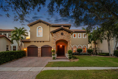 Boynton Beach Single Family Home For Sale: 4097 Artesa Drive
