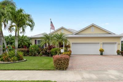 Port Saint Lucie Single Family Home For Sale: 515 NE Canoe Park Circle