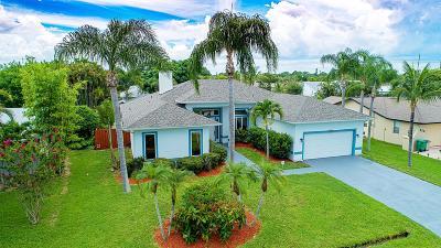 Port Saint Lucie Single Family Home For Sale: 432 SE SEabreeze Lane