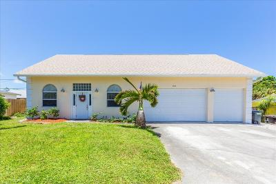 North Palm Beach Single Family Home For Sale: 1833 Len Drive