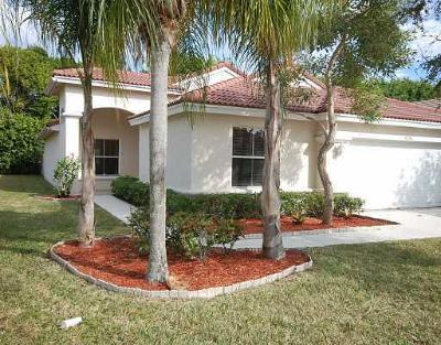 Lake Worth Single Family Home For Sale: 6376 Barton Circle