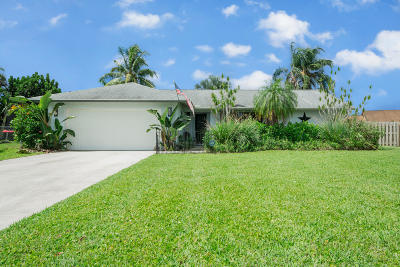 Boynton Beach Single Family Home For Sale: 6296 Madras Circle