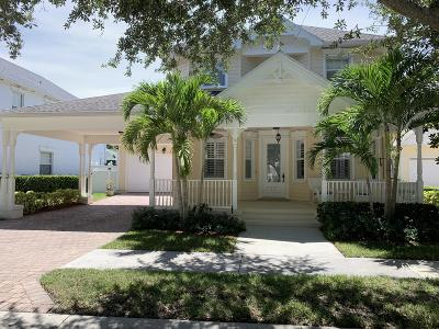 Jupiter Single Family Home For Sale: 152 Sweet Bay Circle