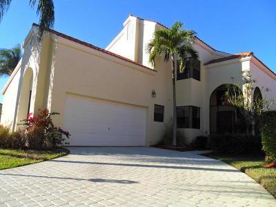 Palm Beach Gardens Rental For Rent: 13309 Saint Tropez Circle