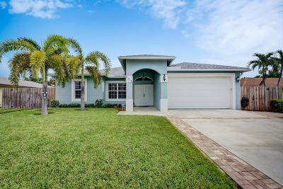 Boynton Beach Single Family Home For Sale: 645 NE 15th Place