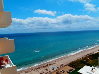 Highland Beach Condo For Sale: 4511 S Ocean Boulevard #1003 Pen