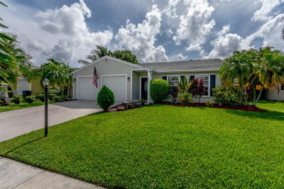 Lake Worth Single Family Home For Sale: 5254 Harwood Lane