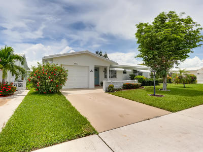 Boynton Beach Single Family Home For Sale: 1718 SW 18th Street