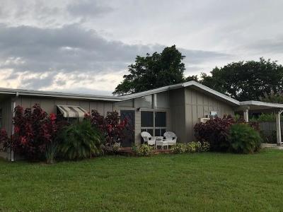 Port Saint Lucie Single Family Home For Sale: 102 SE Naranja Av Avenue