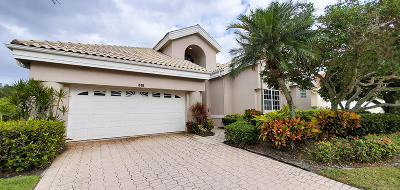 Palm Beach Gardens Single Family Home For Sale: 515 Eagleton Cove Trace