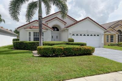 Delray Beach Single Family Home For Sale: 7668 Stirling Bridge Boulevard