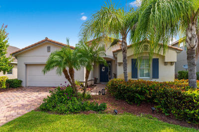 Palm City Single Family Home For Sale: 492 SW Sun Circle