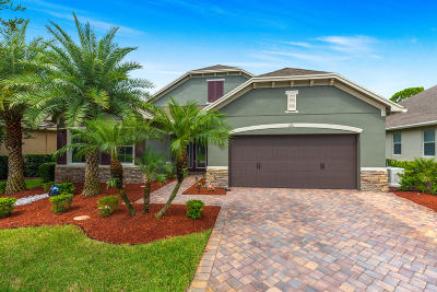 Palm City Single Family Home For Sale: 421 SW Sun Circle