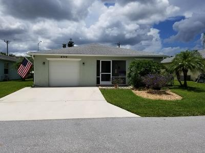 Fort Pierce Single Family Home For Sale: 6735 Dulce Real