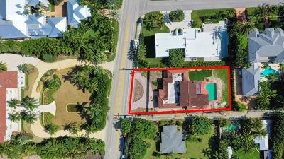 Ocean Ridge Single Family Home For Sale: 6260 Ocean Boulevard