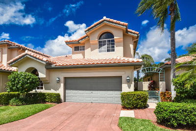 Boca Raton FL Single Family Home For Sale: $369,000