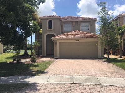 Wellington Single Family Home For Auction: 2663 Sawyer Terrace