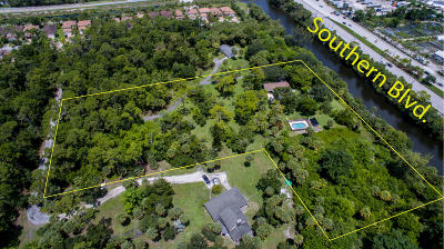 West Palm Beach Single Family Home For Sale: 7879 Mahogany Lane