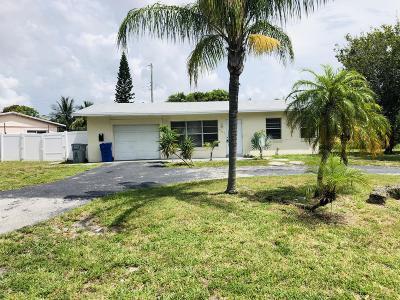 Pompano Beach Single Family Home For Sale: 1651 NE 31st Court