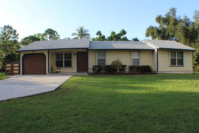 West Palm Beach Single Family Home For Sale: 12781 53rd Road