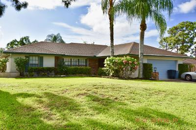 Palm Beach Gardens Single Family Home For Sale: 11706 Birch Street
