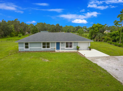 West Palm Beach Single Family Home For Sale: 13610 66th Street