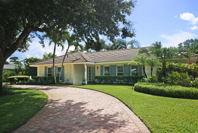 Tequesta Single Family Home Contingent: 176 Golfview Drive