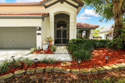 Lake Worth Single Family Home For Sale: 8578 Rolling Hills Boulevard