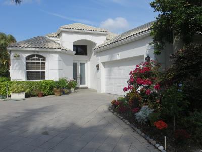 Delray Beach Single Family Home For Sale: 16155 Villa Vizcaya Place