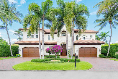 Boca Raton Single Family Home For Sale: 293 Sabal Palm Terrace