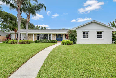 North Palm Beach Single Family Home For Sale: 501 Privateer Road