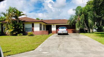 Hobe Sound Single Family Home For Sale: 8642 SE Sandcastle Circle